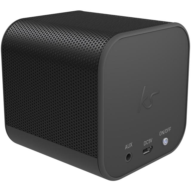 Kitsound Boom Cube Wireless Speaker - Black - KSBMCBBK - 1