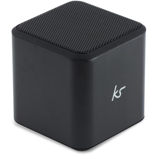 Kitsound Cube Wireless Speaker - Black - KSCUBBTBK - 1