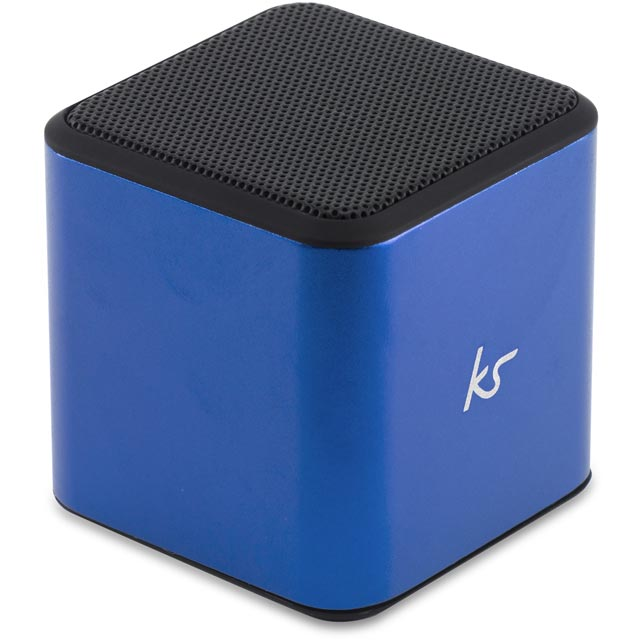 Kitsound Cube Bluetooth Wireless Speaker - Blue