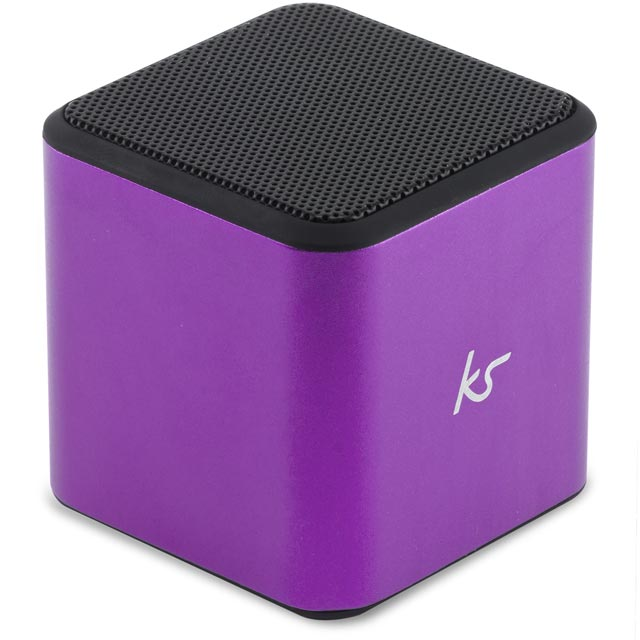 Kitsound Cube Wireless Speaker - Purple