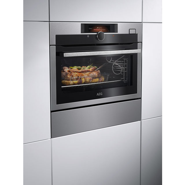 AEG KSE882220M Built In Electric Single Oven - Stainless Steel - KSE882220M_SS - 4