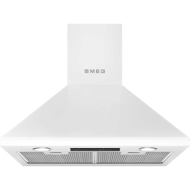 Smeg KSED65BE 60 cm Chimney Cooker Hood - White - KSED65BE_WH - 1