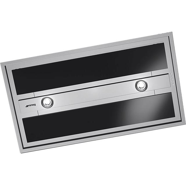 Smeg Integrated Cooker Hood in Stainless Steel / Black