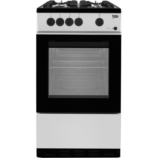 Beko KSG580S Free Standing Cooker in Silver