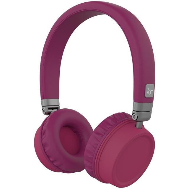 Kitsound Harlem Headphones in Purple