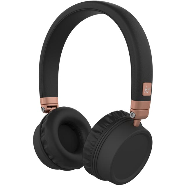 Kitsound Harlems On-Ear Wireless Headphones - Rose Gold