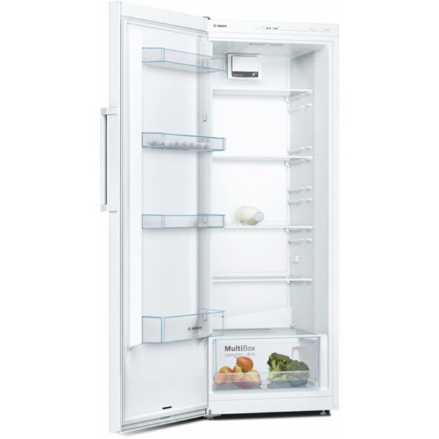 Bosch Serie 2 KSV29NW3PG Fridge - White - A++ Rated - KSV29NW3PG_WH - 1