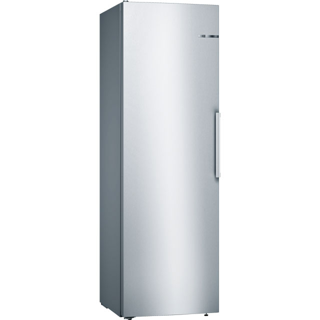 Bosch Serie 4 KSV36VL3PG Fridge - Stainless Steel Effect - A++ Rated