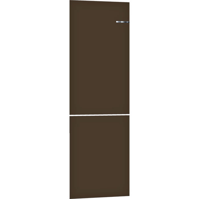 Bosch Serie 4 Vario Style KSZ1BVD00 Clip On Door Accessory Only Suitable For KGN39IJ3AG - Espresso Brown