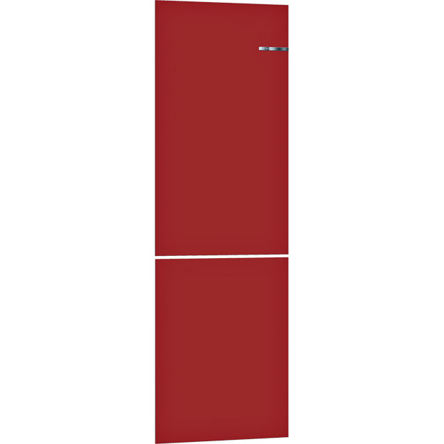 Bosch Serie 4 Vario Style KSZ1BVR00 Clip On Door Accessory Only Suitable For KGN39IJ3AG - Cherry Red