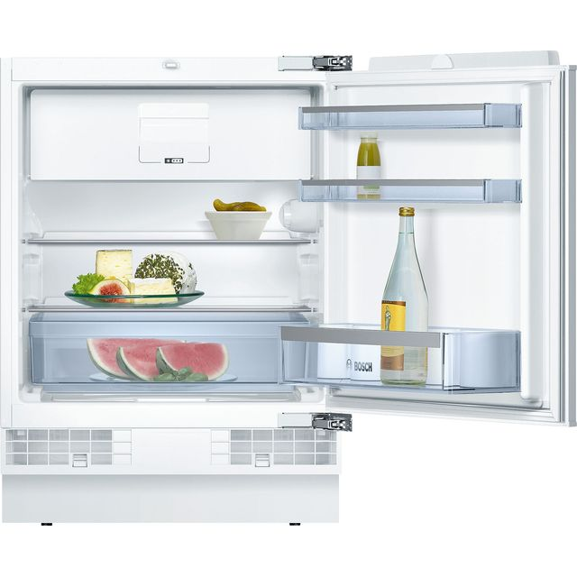 Bosch Serie 6 KUL15AFF0G Built Under Fridge with Ice Box - White - KUL15AFF0G_WH - 1