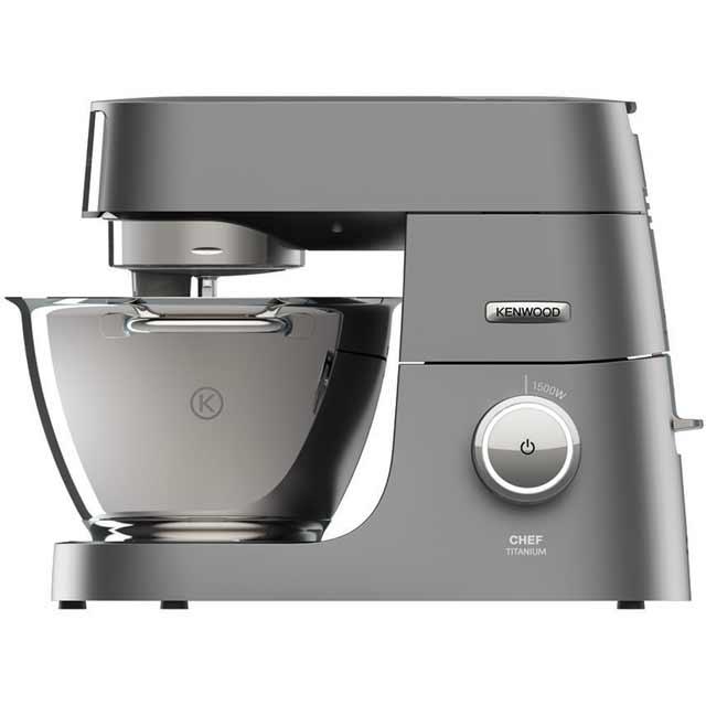 kenwood chef titanium xl kvl8300s food mixer in silver. Black Bedroom Furniture Sets. Home Design Ideas