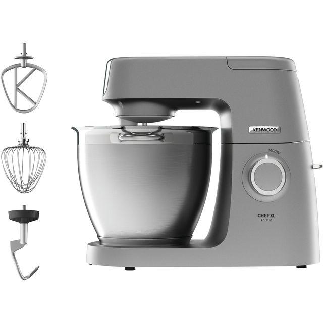 Kenwood Chef Elite XL KVL6100S Kitchen Machine - Silver