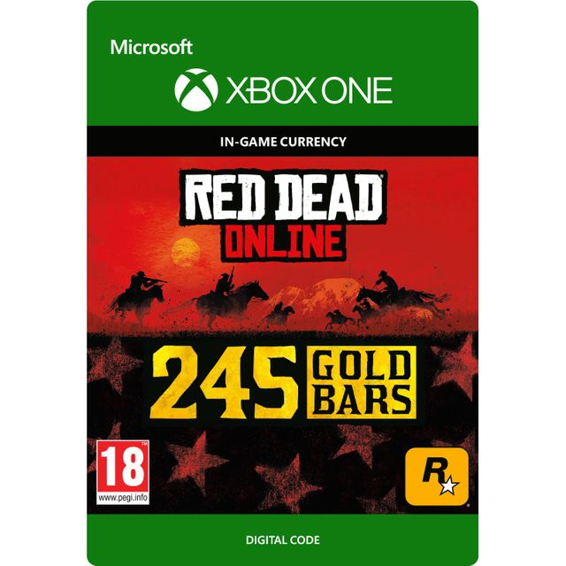 Red Dead Redemption 2 245 Gold Bars For Xbox One Digital Download