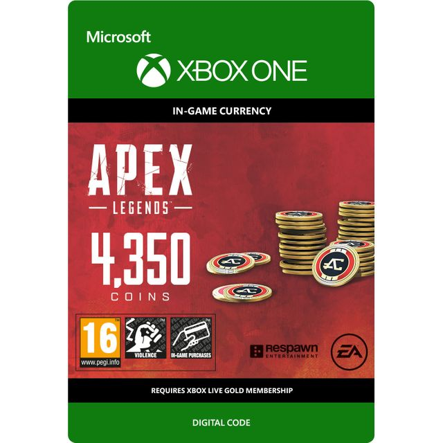 Image of Apex Legends 4350 Coins For Xbox One Digital Download