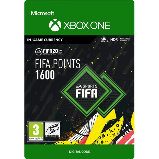 Fifa 20 1600 Points For Xbox One Digital Download