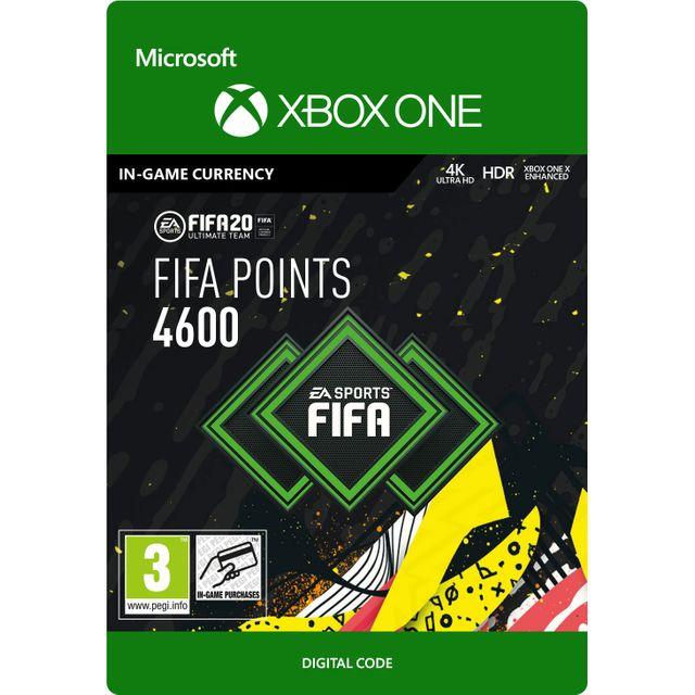 Fifa 20 4600 Points For Xbox One Digital Download