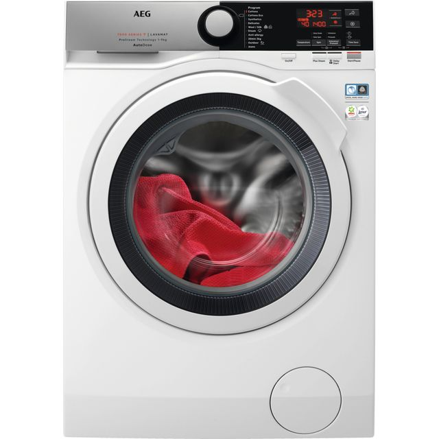AEG L7FBE942CA Wifi Connected 9Kg Washing Machine with 1400 rpm - White - A+++ Rated