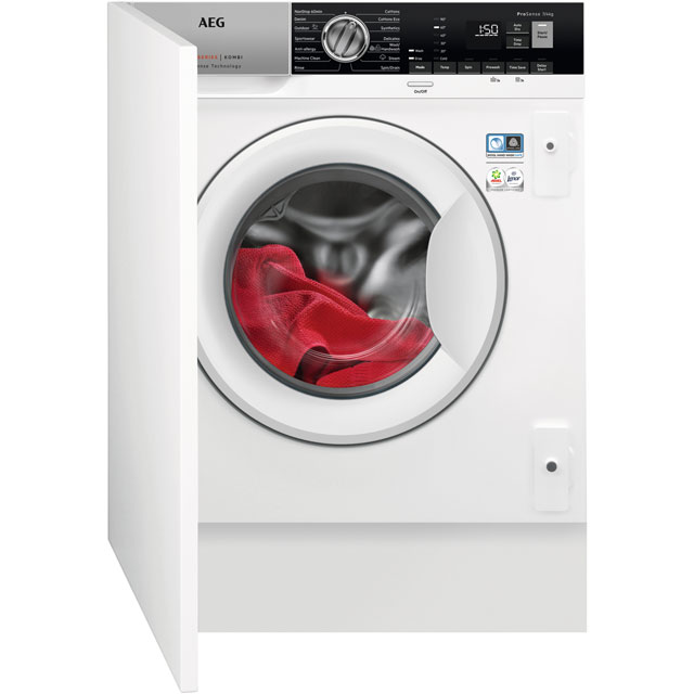 AEG Integrated Washer Dryer in White