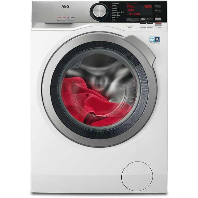 AEG DualSense Technology L7WEC166R Free Standing Washer Dryer in White