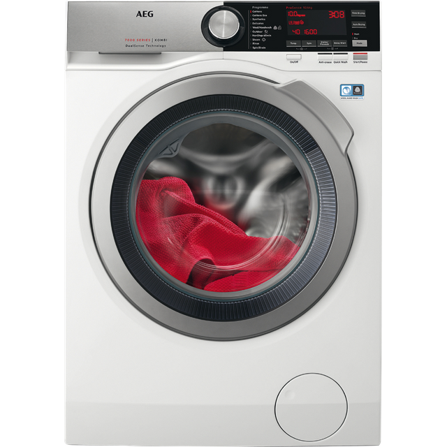 AEG DualSense Technology L7WEC166R 10Kg / 6Kg Washer Dryer - White - L7WEC166R_WH - 1