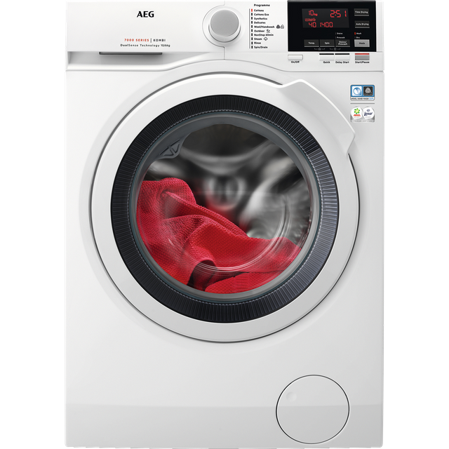 AEG DualSense Technology L7WEG161R 10Kg / 6Kg Washer Dryer with 1600 rpm - White
