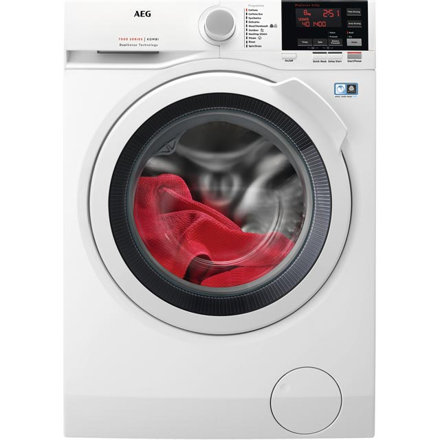 AEG DualSense Technology L7WEG841R 8Kg / 4Kg Washer Dryer with 1600 rpm - A Rated