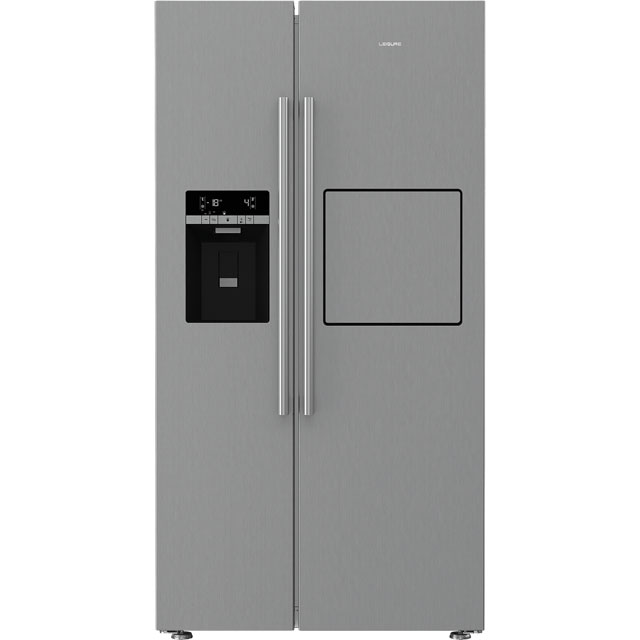 Leisure LASP41MPX American Fridge Freezer - Brushed Steel - A++ Rated