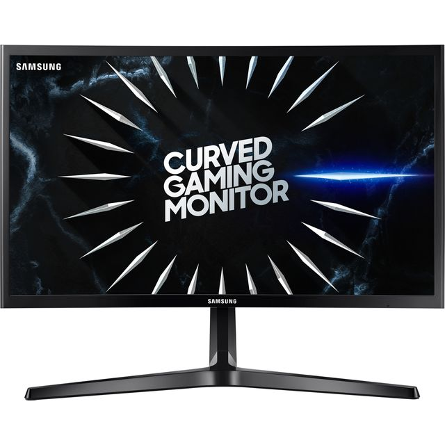 "Samsung C24RG50 Full HD 23.5"" 144Hz Curved Gaming Monitor with AMD FreeSync - Black"