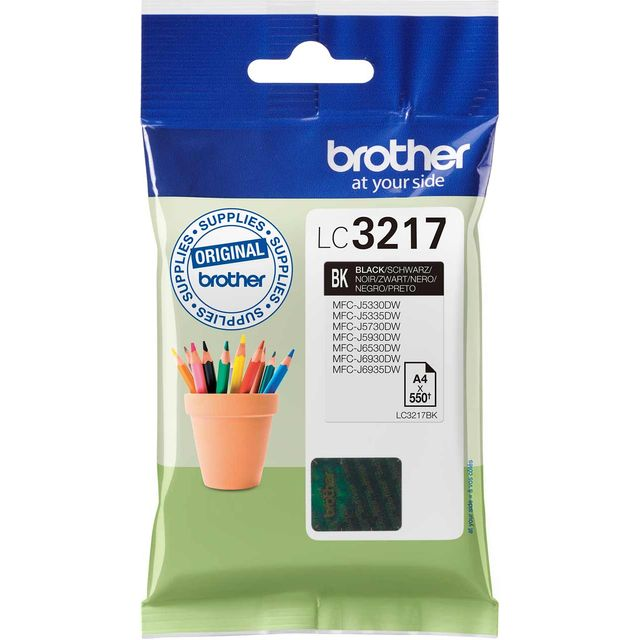 Brother LC3217BK Black Ink Cartridge