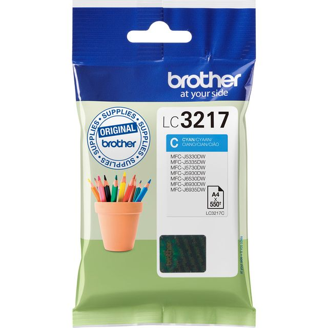 Brother Ink LC3217C Printer Ink