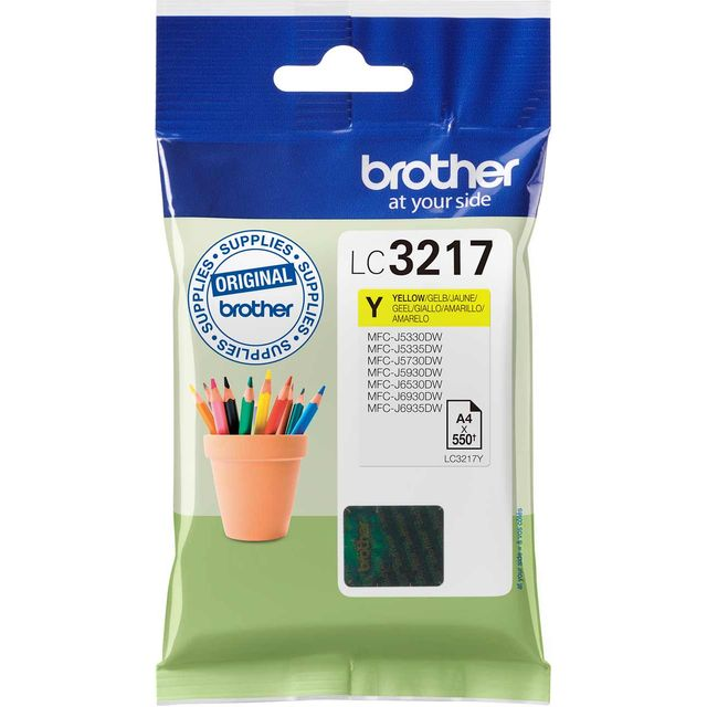 Brother LC3217Y Yellow Ink Cartridge