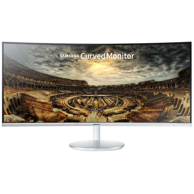 "Samsung C34F791 WQHD 34"" 100Hz Curved Monitor with AMD FreeSync - Dark Silver"