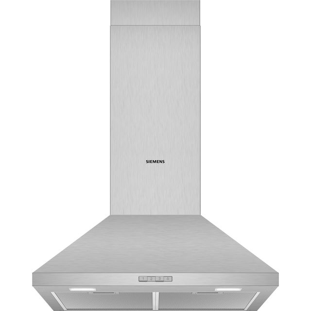 Siemens IQ-100 60 cm Chimney Cooker Hood - Stainless Steel - C Rated