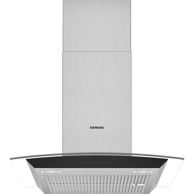 Siemens IQ-300 LC67AFM50B 60 cm Chimney Cooker Hood - Stainless Steel - B Rated - LC67AFM50B_SS - 1