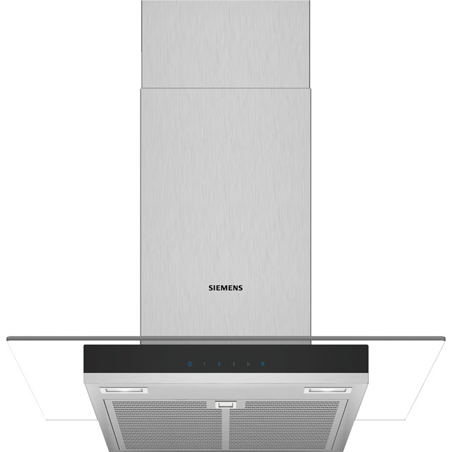 Siemens IQ-300 60 cm Chimney Cooker Hood - Stainless Steel - B Rated