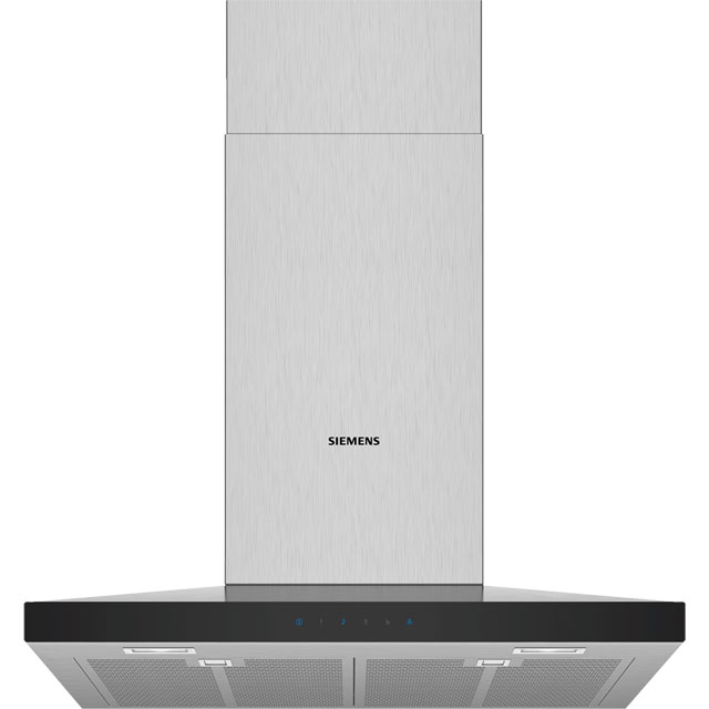 Siemens IQ-300 LC67QFM50B 60 cm Chimney Cooker Hood - Stainless Steel - A Rated - LC67QFM50B_SS - 1