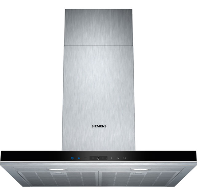 Siemens IQ-700 LC68BA572B 60 cm Chimney Cooker Hood - Stainless Steel - A+ Rated - LC68BA572B_SS - 1
