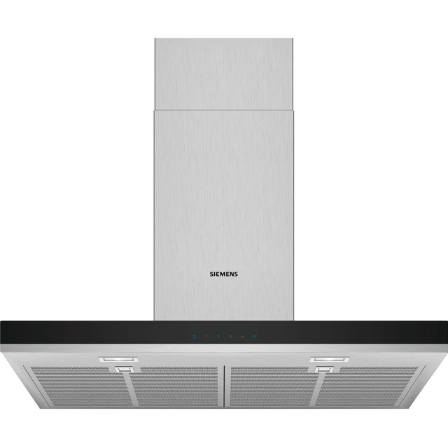 Siemens IQ-300 75 cm Chimney Cooker Hood - Stainless Steel - B Rated