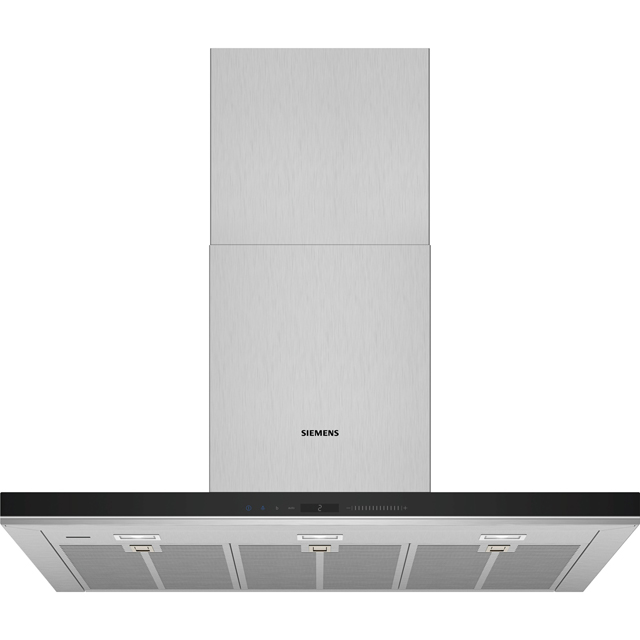 Siemens IQ-700 LC91BUV50B Wifi Connected 90 cm Chimney Cooker Hood - Stainless Steel - A+ Rated - LC91BUV50B_SS - 1