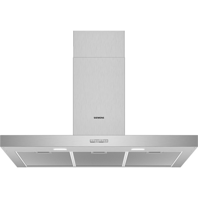 Siemens IQ-100 LC94BBC50B 90 cm Chimney Cooker Hood - Stainless Steel - D Rated - LC94BBC50B_SS - 1