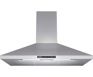 Siemens LC94WA521B Stainless Steel, 90cm Pyramid Chimney Cooker Hood lowest price