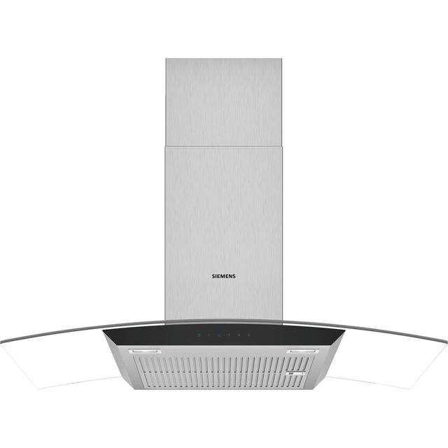 Siemens IQ-300 90 cm Chimney Cooker Hood - Stainless Steel - B Rated