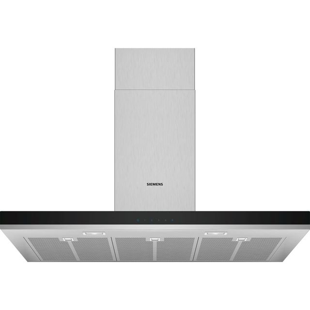 Siemens IQ-300 LC97BHM50B 90 cm Chimney Cooker Hood - Stainless Steel - B Rated - LC97BHM50B_SS - 1