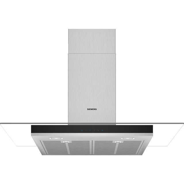 Siemens IQ-300 90 cm Chimney Cooker Hood - Stainless Steel - A Rated