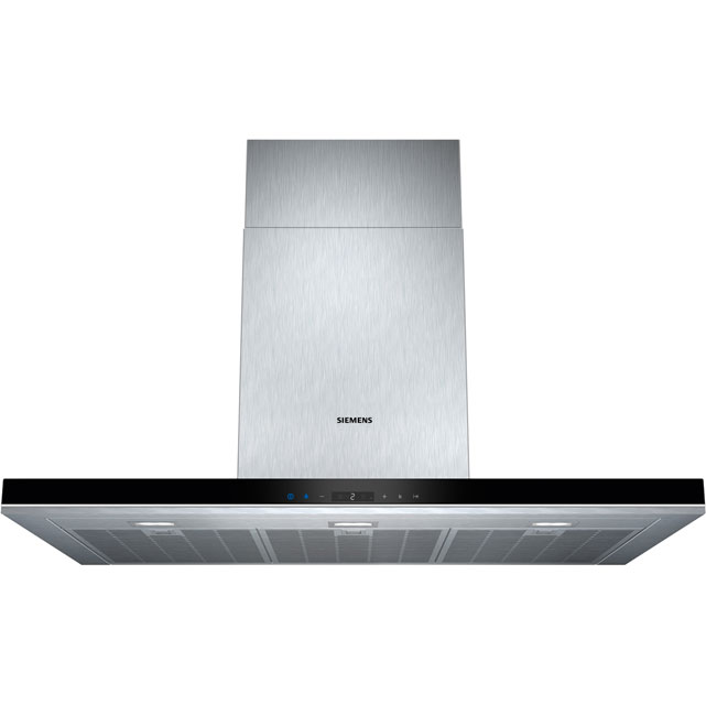 Siemens IQ-700 LC98BA572B 90 cm Chimney Cooker Hood - Stainless Steel - A+ Rated - LC98BA572B_SS - 1
