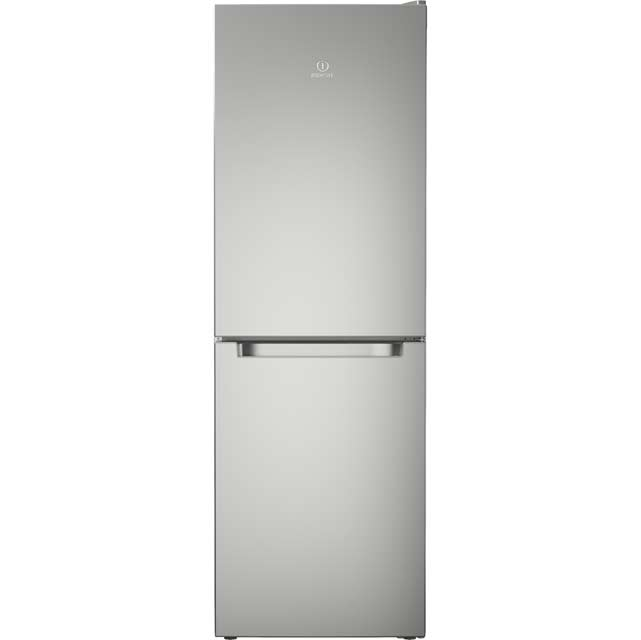 Indesit LD70N1X 50/50 Frost Free Fridge Freezer - Stainless Steel