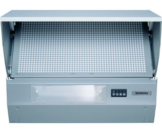 Siemens LE62031GB Integrated Cooker Hood in Metallic at Boots Kitchen Appliances