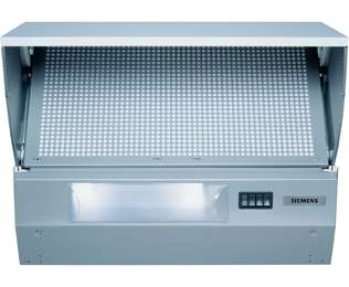 Siemens LE64130GB 60 cm Integrated Cooker Hood - Metallic - E Rated - LE64130GB_ME - 1