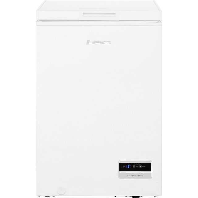 Lec CF100LMk2 Chest Freezer - White - A+ Rated - CF100LMk2_WH - 1